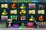 Mad scientist slotmachine